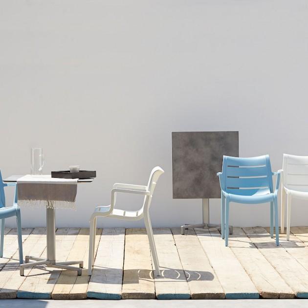 На фото: Крісло Sunset 2329 Air-force Blue (232962), Пластикові крісла SCAB Design, каталог, ціна