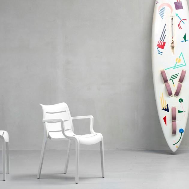 На фото: Крісло Sunset 2329 Linen (232911), Пластикові крісла SCAB Design, каталог, ціна