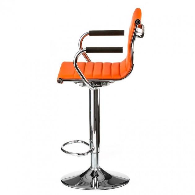 На фото: Барний стілець Bar Orange (e1137), Барні стільці і столи Special4You, каталог, ціна