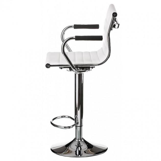 На фото: Барний стілець Bar White (e1151), Барні стільці і столи Special4You, каталог, ціна