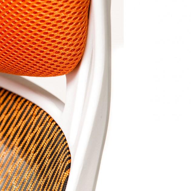 На фото: Офісне крісло Briz Orange White (E0895), Офісні стільці і крісла Special4You, каталог, ціна