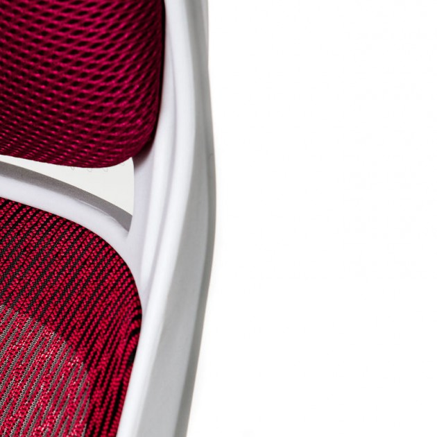 На фото: Офісне крісло Briz Red White (E0901), Офісні стільці і крісла Special4You, каталог, ціна