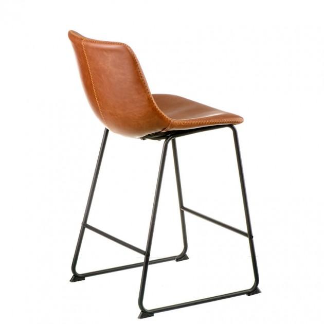 На фото: Напівбарний стілець Moment Brown (e3193), Барні стільці і столи Special4You, каталог, ціна