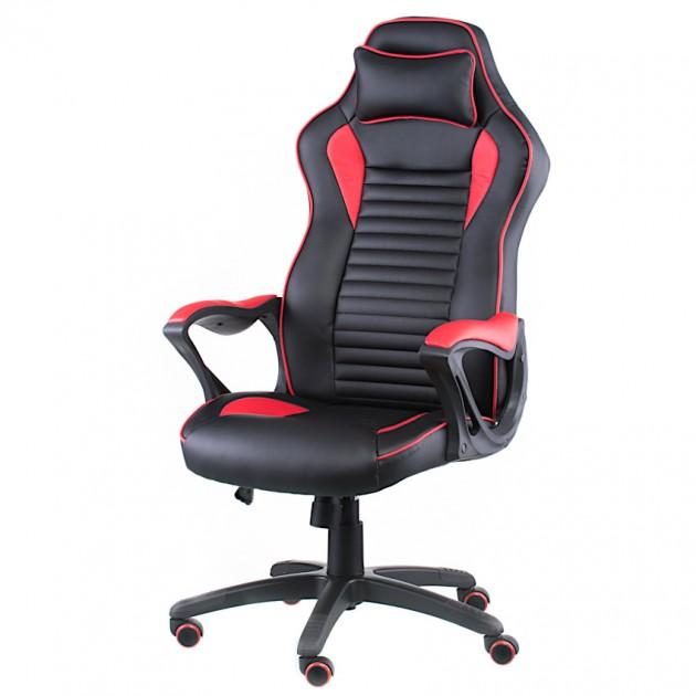 На фото: Офісне крісло Nero Black-Red (E4954), Офісні стільці і крісла Special4You, каталог, ціна