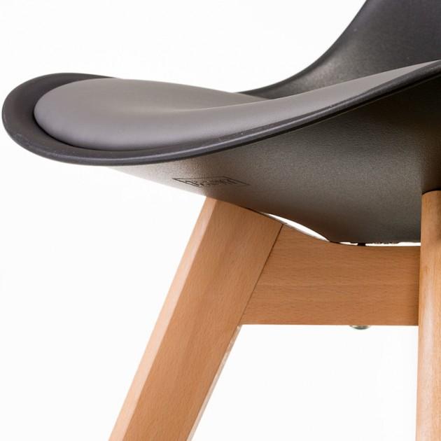 На фото: Стілець Sedia Black Grey (E4893), Стільці для дому Special4You, каталог, ціна