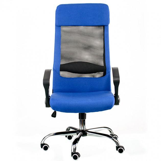 На фото: Офісне крісло Silba Blue (E5838), Офісні стільці і крісла Special4You, каталог, ціна