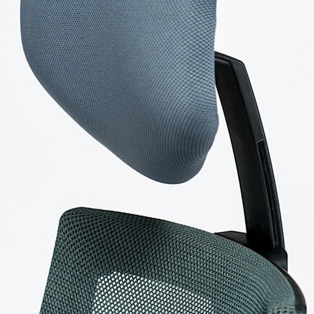 На фото: Офісне крісло Tune Slate Grey (E5494), Офісні крісла Special4You, каталог, ціна