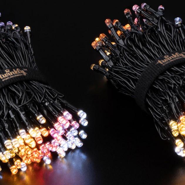 На фото: Розумна LED гірлянда Strings AWW 250 Gold Edition (TWS250GOP-BEU), Світлодіодні гірлянди Twinkly, каталог, ціна