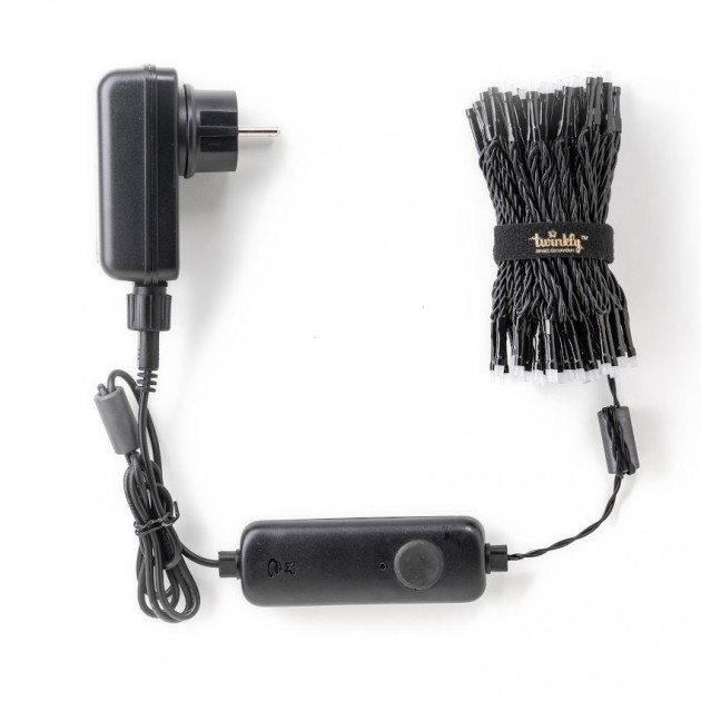 На фото: Розумна LED гірлянда Strings RGB 100 (TWS100STP-BEU), Світлодіодні гірлянди Twinkly, каталог, ціна