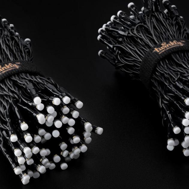 На фото: Розумна LED гірлянда Strings RGB 250 (TWS250STP-BEU), Світлодіодні гірлянди Twinkly, каталог, ціна