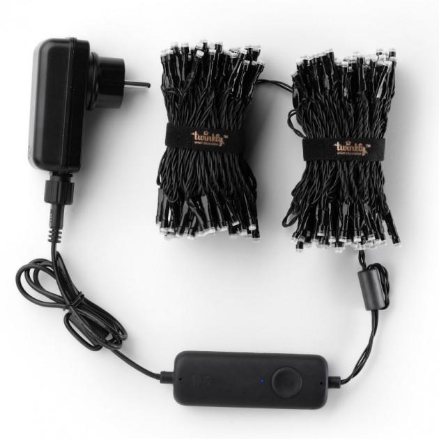 На фото: Розумна LED гірлянда Strings RGBW 250 (TWS250SPP-BEU), Світлодіодні гірлянди Twinkly, каталог, ціна