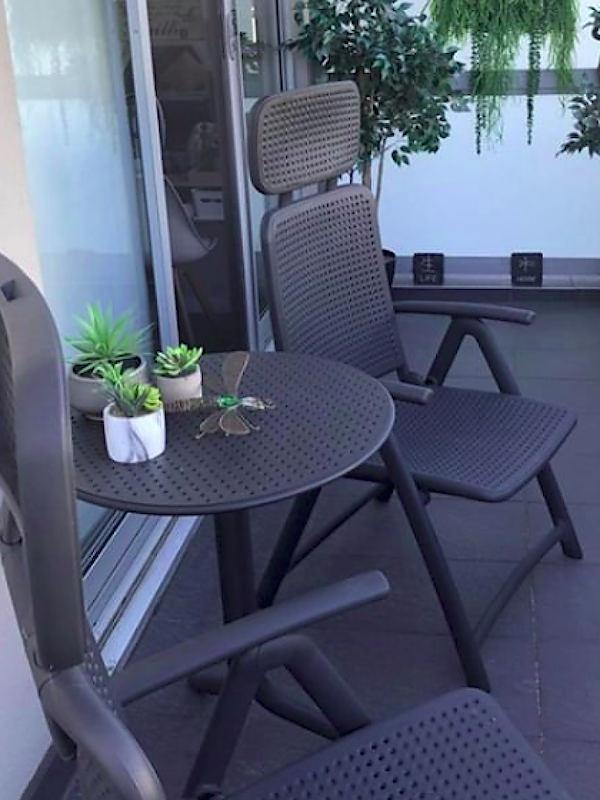 Купити комплект меблів для балкона Nardi з композитного пластика
