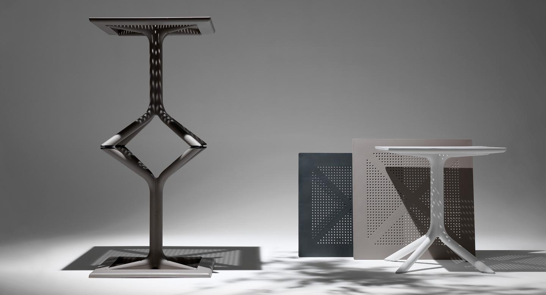 Столи Clip 80 - це ідеальні столи для ресторану або кафе від Nardi